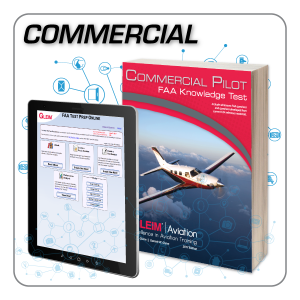 Commercial Pilot Knowledge Test Prep Online & Book