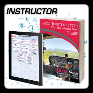 Flight/Ground Instructor Knowledge Test Prep Online & Book