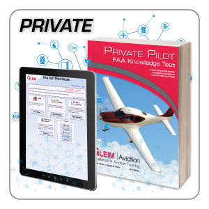 Private Pilot Knowledge Test Prep Online & Book