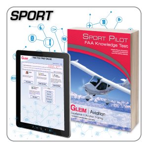 Sport Pilot Knowledge Test Prep Online & Book