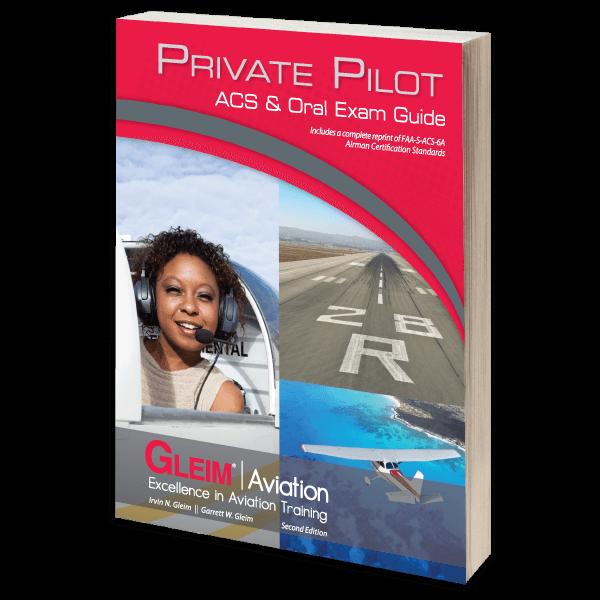 Private Pilot Acs Oral Exam Guide Gleim Aviation