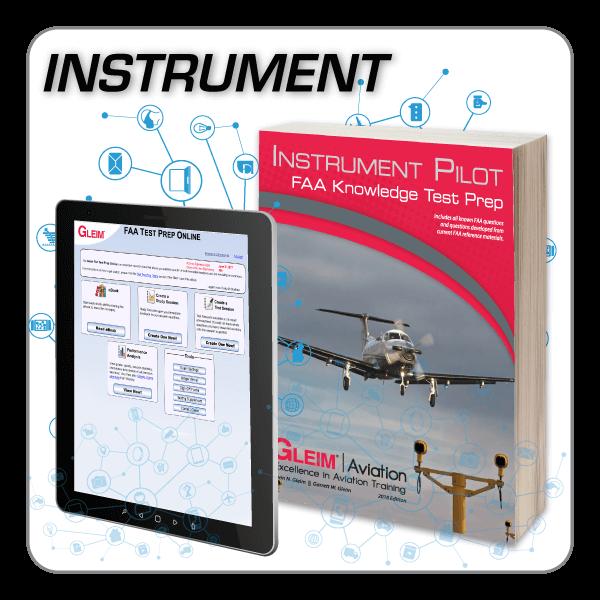 Instrument Pilot Knowledge Test Prep Online & Book - Gleim Aviation