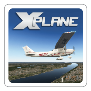 X-Plane Flight Training Course Simulator