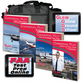 Gleim Releases New Commercial Pilot Practical Test Prep Resources