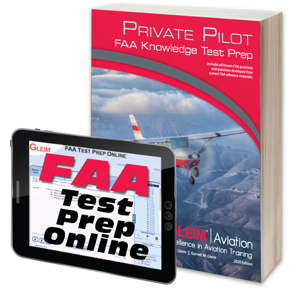 Private Pilot Knowledge Test Prep Online & Book