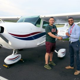 American Airlines Sponsors 50 First Lessons Giveaway with Gleim Partner School Global Aviation Center