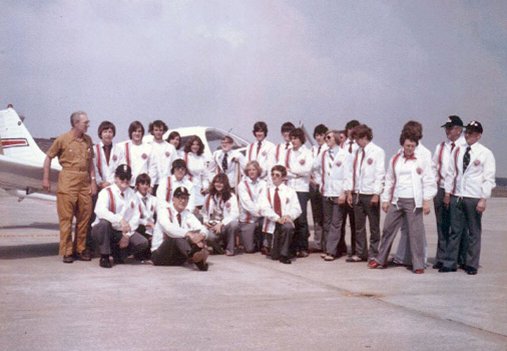 1976 Post 8 Aviation Explorers