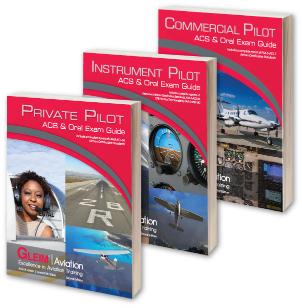 Gleim Private Pilot Airman Certification Standards ACS /& Oral Exam Guide OEG