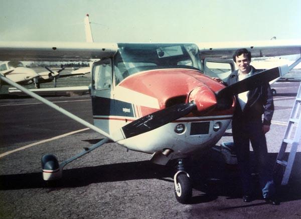 Burt Fogelman Cessna 182