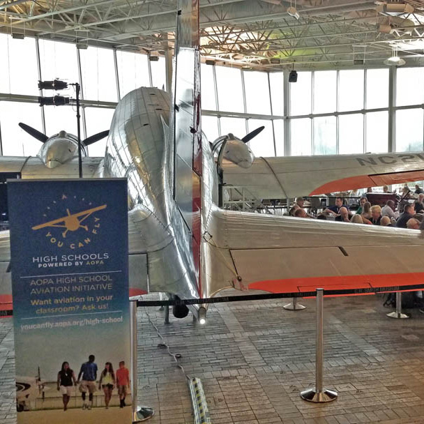 Engaging High Schools To Teach Aviation At The AOPA STEM
