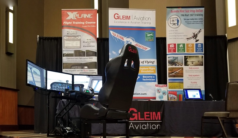 Fly the Gleim Virtual Pilot Cockpit at FlightSimCon 2018