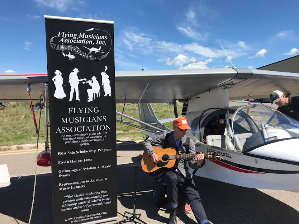 High School Musicians Fly Thanks to the Flying Musicians