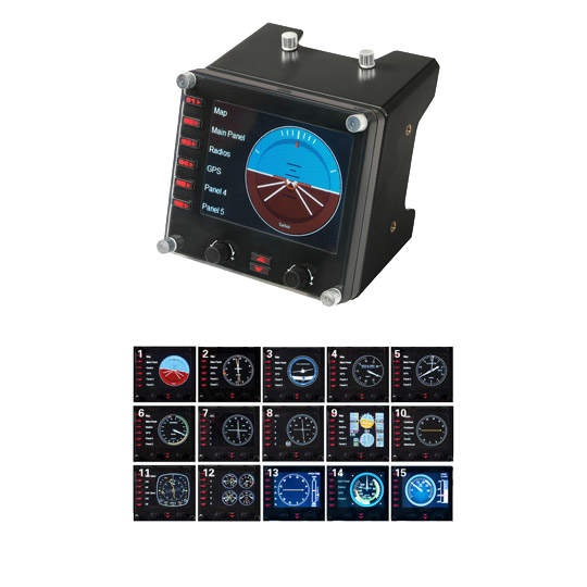 Logitech Pro Flight Multi-Instrument Panel