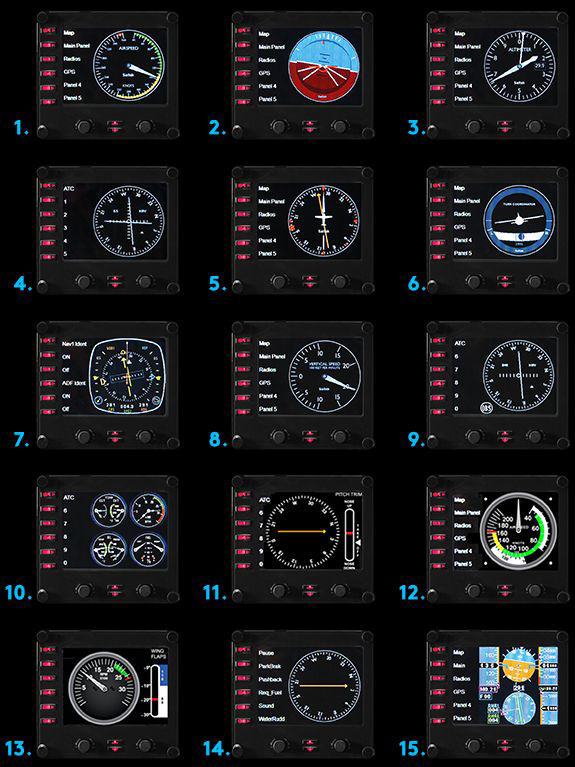 Logitech Pro Flight Multi-Instrument Panel