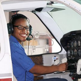 New Year's Resolutions with Jayla, Student Pilot and Ninety-Nines Scholarship Recipient