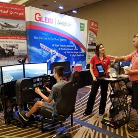 Pilots and Aviation Enthusiasts Filled the FlightSimExpo 2019