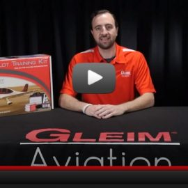 What's included in a Gleim Aviation Pilot Kit?
