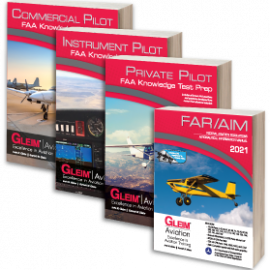 Gleim Releases 2021 Edition Private, Instrument, and Commercial Knowledge Test Prep Materials, FAR/AIM