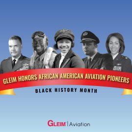 Gleim Honors African-American Aviation Pioneers