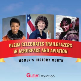 Women's History Month: Celebrating Trailblazers in Aerospace and Aviation
